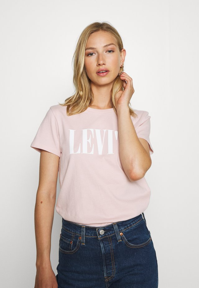 THE PERFECT TEE - T-shirt med print - sepia rose