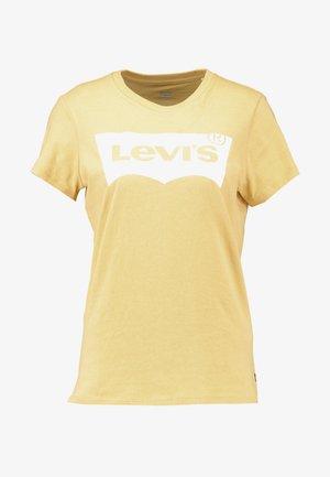 THE PERFECT TEE - T-shirt z nadrukiem - ochre