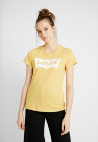 Levi's® - THE PERFECT TEE - T-shirts med print - ochre - 0