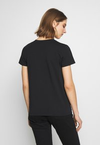 Levi's® - THE PERFECT TEE - Triko s potiskem - caviar