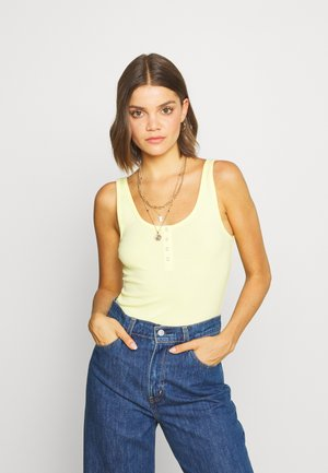 RUBY HENLEY BODYSUIT - Top - lemon meringue