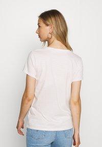 Levi's® - PERFECT VNECK - T-shirts med print - annalise/sepia rose - 2