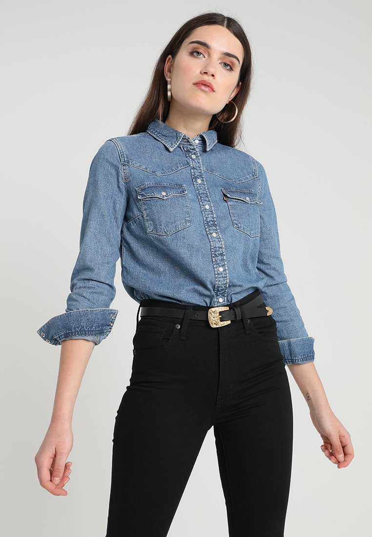 Levi's® - ULTIMATE WESTERN - Button-down blouse - livin' large