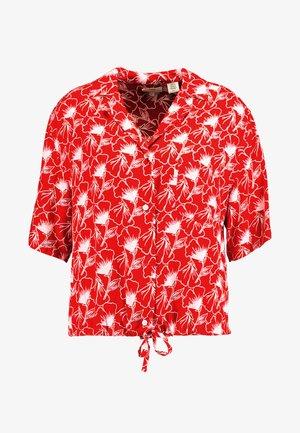 PALOMA SHIRT - Camisa - red