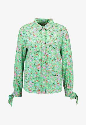 SELITA WESTERN TIE CUFF - Overhemdblouse - island green