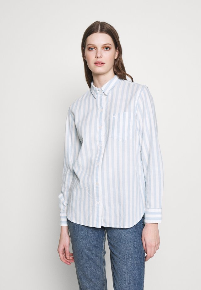 THE ULTIMATE - Overhemdblouse - white/light blue