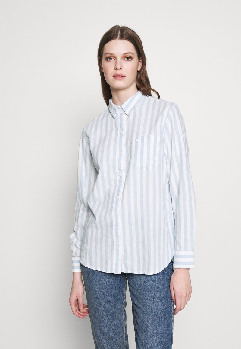 Levi's® - THE ULTIMATE - Camicia - white/light blue