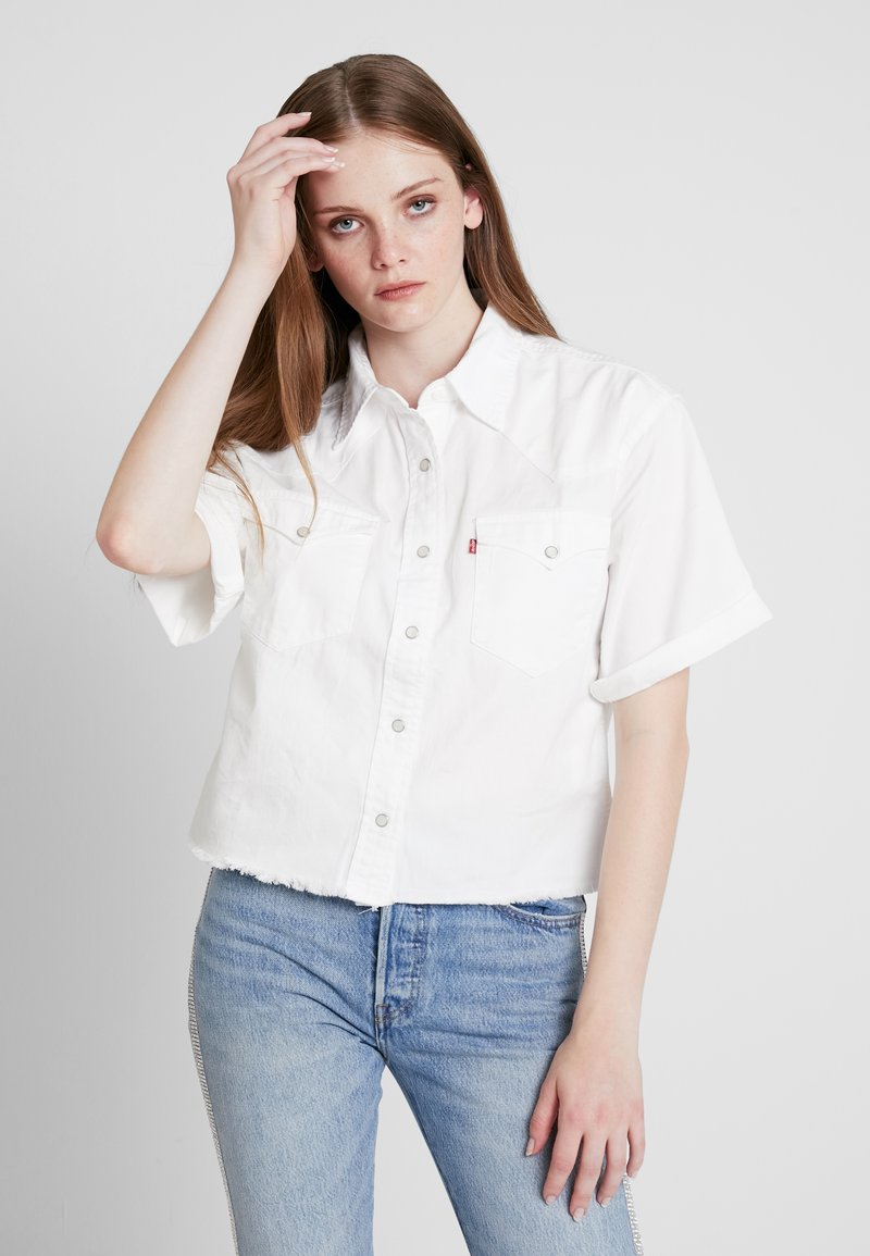 Levi's® - SUNNY WESTERN - Skjorta - bright white