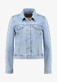 Levi's® - ORIGINAL TRUCKERNEEDLECRAFT TRUCKER - Giacca di jeans - blue - 4