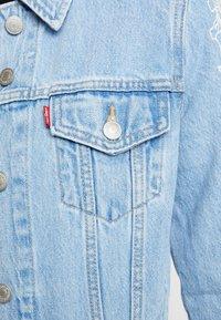Levi's® - ORIGINAL TRUCKERNEEDLECRAFT TRUCKER - Giacca di jeans - blue - 5