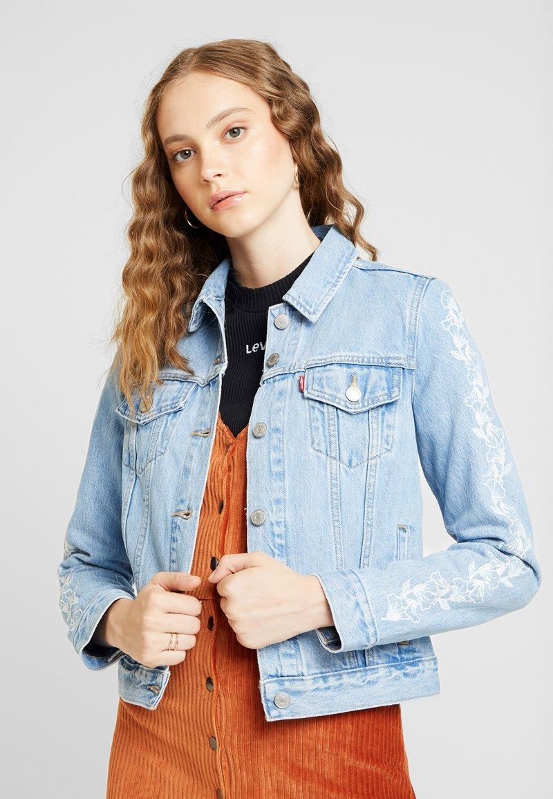 Levi's® - ORIGINAL TRUCKERNEEDLECRAFT TRUCKER - Veste en jean - blue