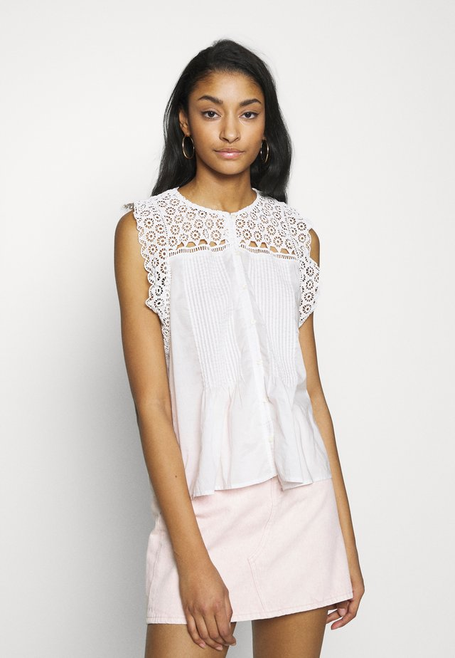 CHARLIE  - Blusa - cloud dancer