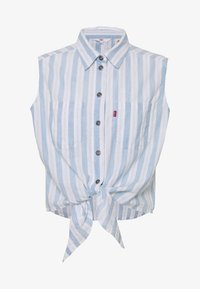 Levi's® - ALINA TIE SHIRT - Skjorte - light blue/white - 3