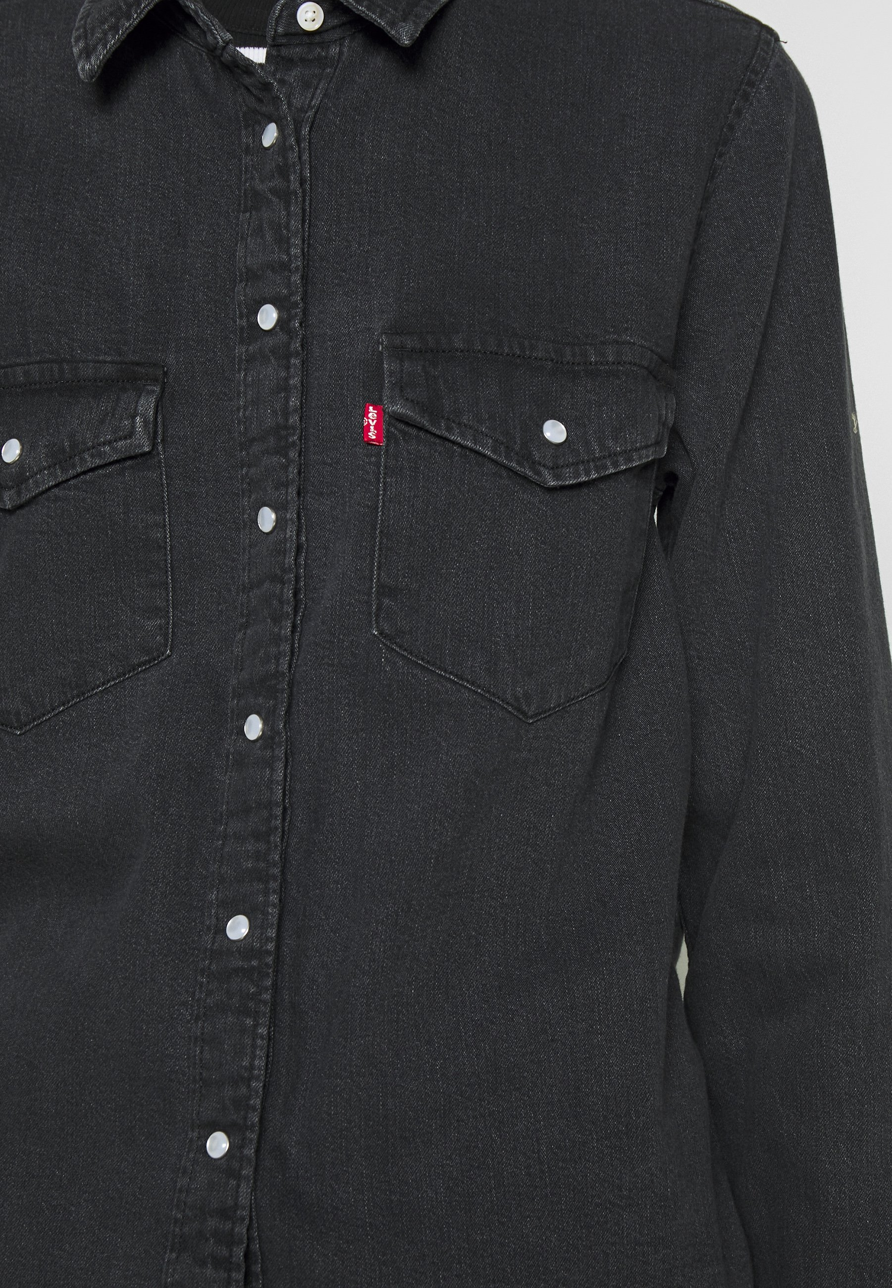 Levi's® ESSENTIAL WESTERN - Koszula - black sheep