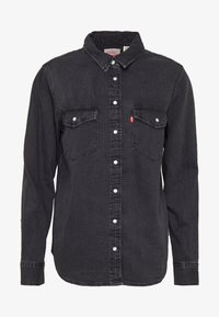 Levi's® - ESSENTIAL WESTERN - Button-down blouse - black sheep - 3
