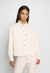 Levi's® - GRACIE SHIRT - Button-down blouse - ecru - 0