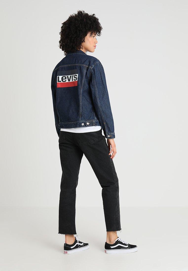 Levi's® EX BOYFRIEND TRUCKER - Veste en jean sports day