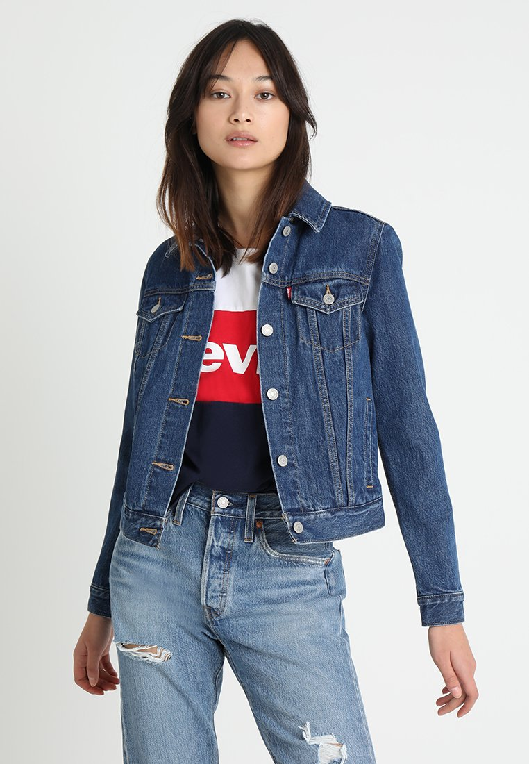 Levi's® - ORIGINAL LINED TRUCKER - Giacca di jeans - inside joke