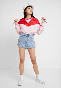 Levi's® - KIMORA JACKET - Windbreaker - raglan pink lady/brilliant red - 1