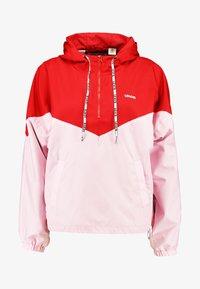 Levi's® - KIMORA JACKET - Windbreaker - raglan pink lady/brilliant red - 4