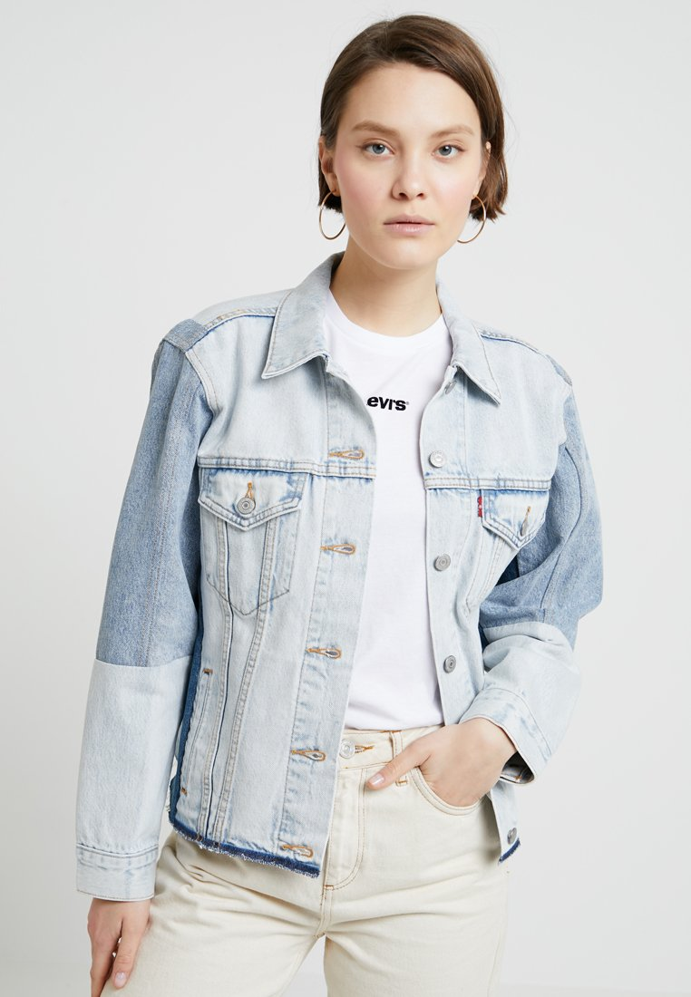 Levi's® - EX-BF SPORT PC TRUCKER - Jeansjacke - end game piecing