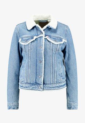 TRIM TRUCKER - Veste en jean - concrete indigo