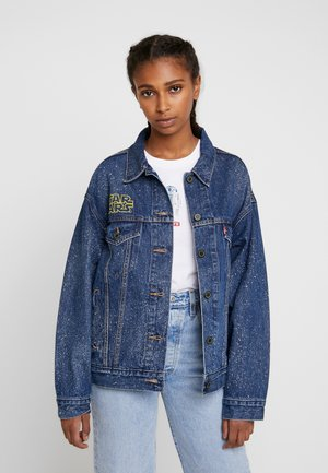 DAD TRUCKER - Jeansjacka - blue denim