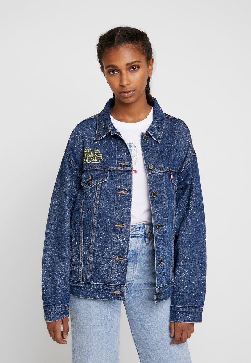 Levi's® - DAD TRUCKER - Jeansjakke - blue denim