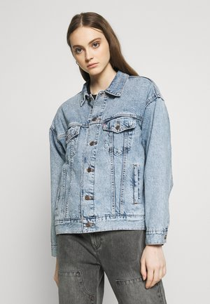 DAD TRUCKER - Veste en jean - old story