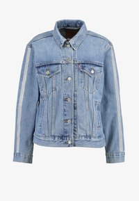 Levi's® - TUX STRIPE TRUCKER DIAMOND IN THE - Chaqueta vaquera - dark-blue denim