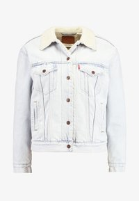 Levi's® - EX-BF SHERPA TRUCKER - Veste en jean - warm as toast - 4