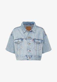 Levi's® - CROP DAD TRUCKER - Giacca di jeans - jeffrey - 4