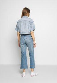 Levi's® - CROP DAD TRUCKER - Giacca di jeans - jeffrey - 2