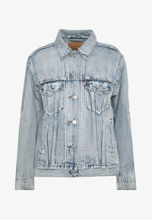 EX-BOYFRIEND TRUCKER - Denim jacket - extra-ordinary