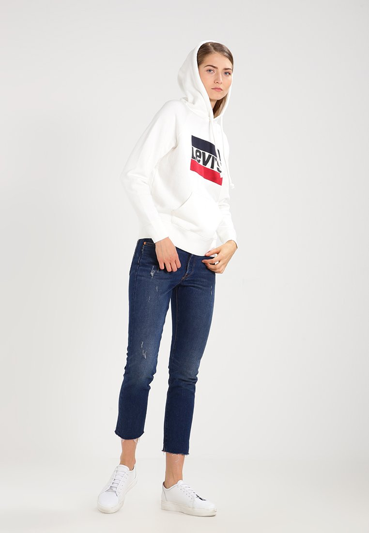 Levi's® - GRAPHIC SPORT - Hoodie - marshmallow