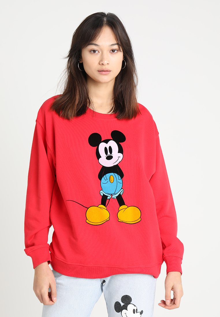 Levi's® - MICKEY MOUSE GRAPHIC DROP SHOULDER CR - Sweatshirt - chinese red