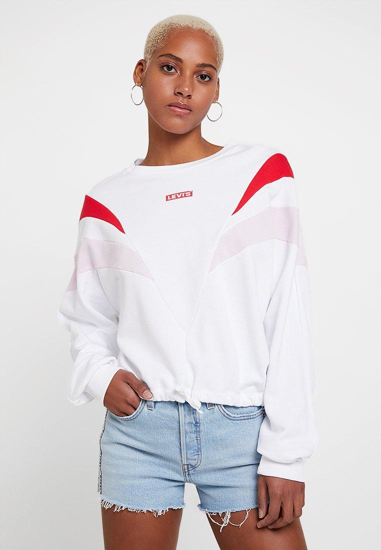 Levi's® - FLORENCE CREW - Sweatshirt - white