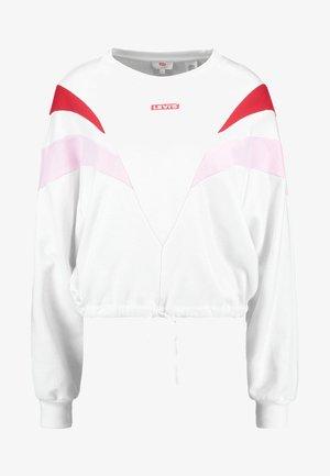 FLORENCE CREW - Sweatshirts - white