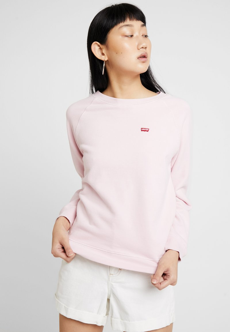 Levi's® - RELAXED GRAPHIC CREW - Sweatshirt - batwing chest hit pink lady
