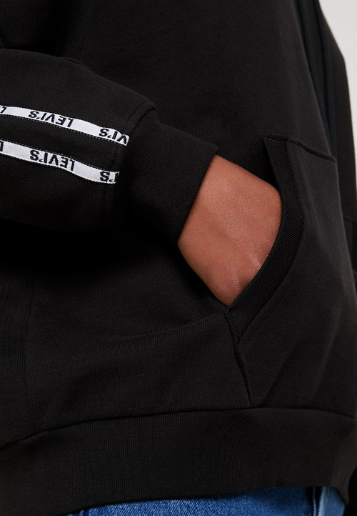trwałe modelowanie Levi's® UNBASIC HOODIE - Bluza z kapturem - meteorite Odzież Damska IRMC-NY7