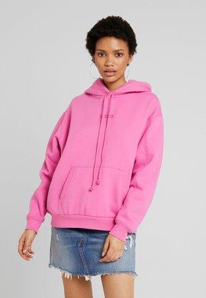 UNBASIC HOODIE - Luvtröja - pink