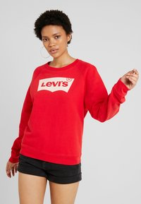 Levi's® - RELAXED GRAPHIC CREW - Sweatshirt - brilliant red - 0