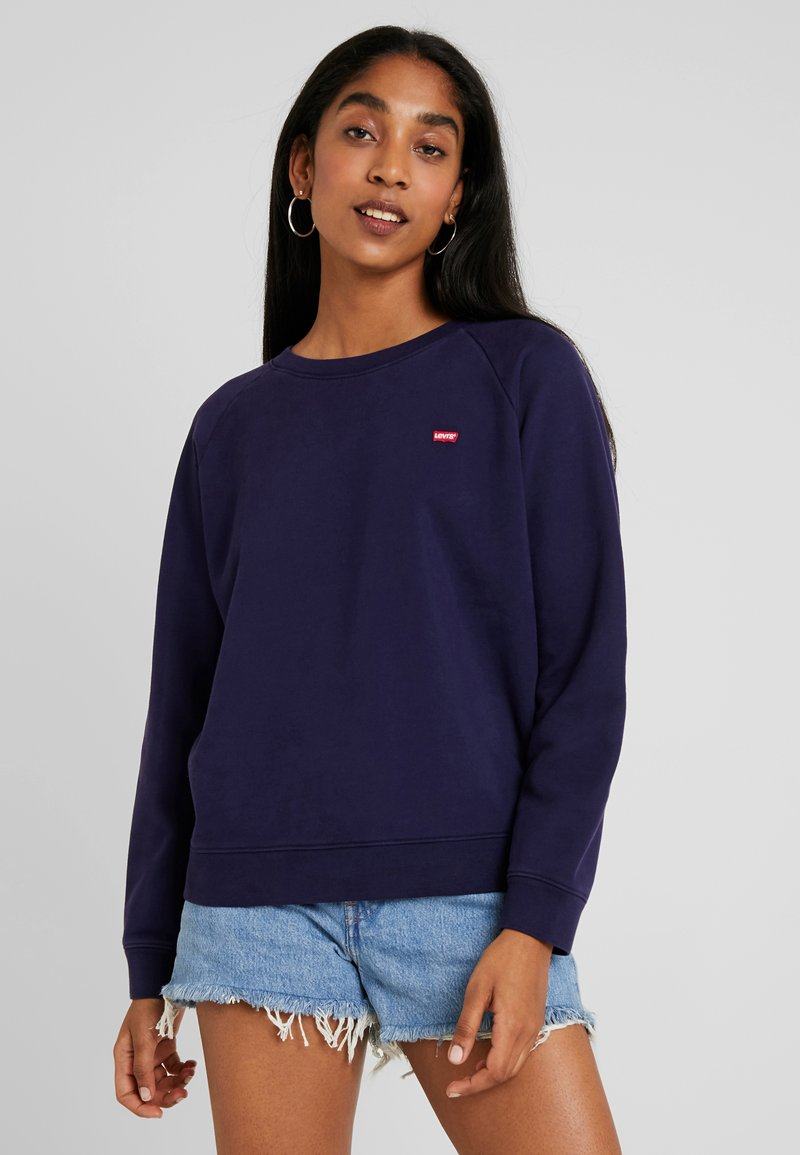Levi's® - RELAXED GRAPHIC CREW - Sweatshirt - sea captain blue