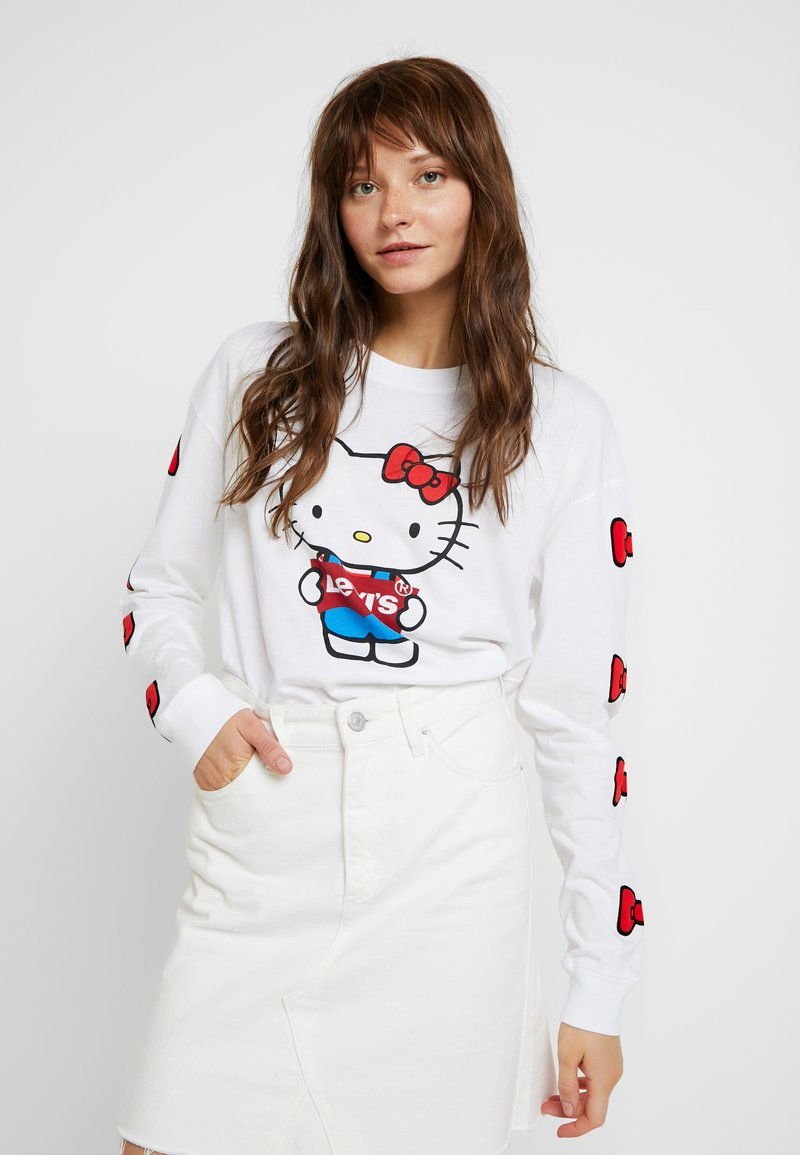 Levi's® - LEVI'S® X HELLO-KITTY GRAPHIC - Langarmshirt - white