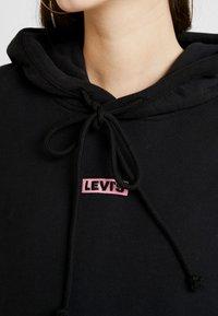 Levi's® - UNBASIC HOODIE - Felpa con cappuccio - box tab meteorite - 4