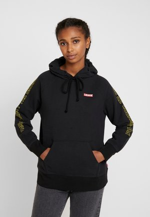 STAR WARS GRAPHIC SPORT HOODIE - Luvtröja - androids black