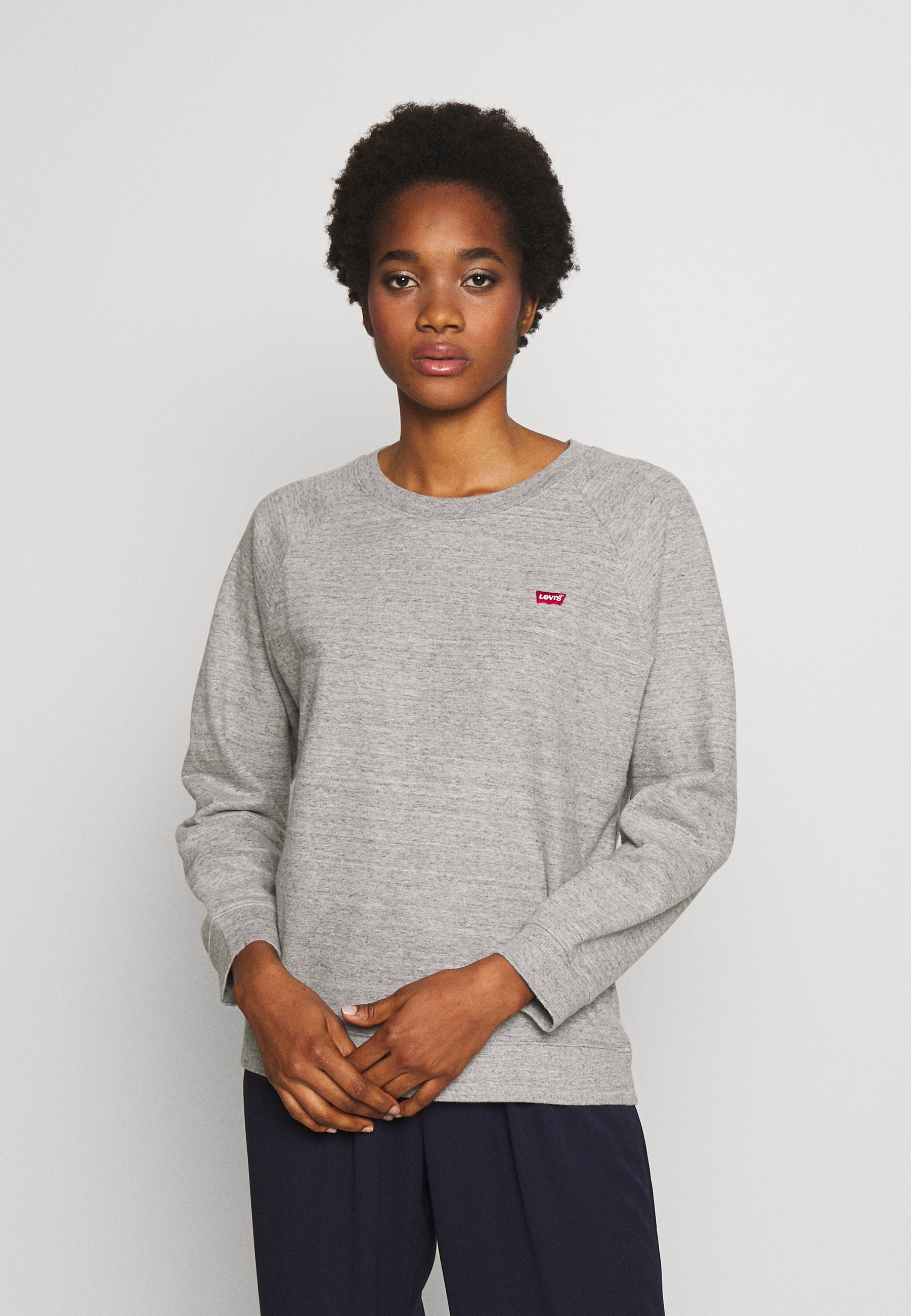 Levi's® RELAXED CREW NEW - Bluza - smokestack heather