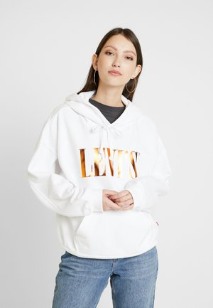 GRAPHIC HOODIE - Hoodie - white