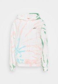 white/multi-coloured