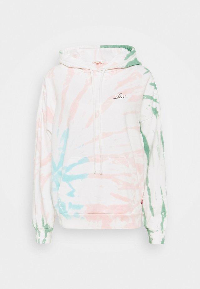 GRAPHIC HOODIE - Sweat à capuche - white/multi-coloured
